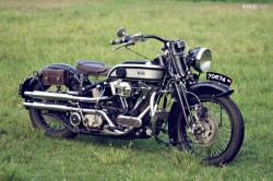 Custom Harley Softail Springer