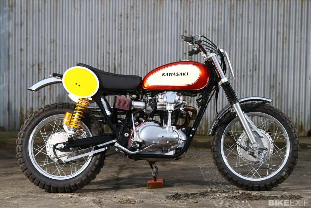 Kawasaki W650 by James Whitham
