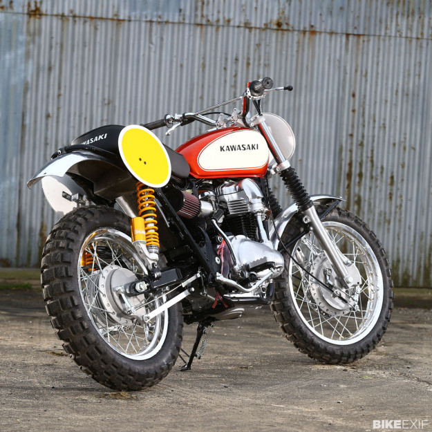 Kawasaki W650 tracker by James Whitham