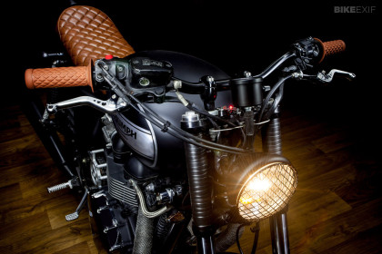 Bonneville T100 by Macco Motors
