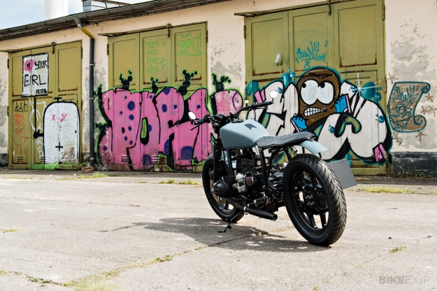 Brat style BMW R80 custom motorcycle by Urban Motor of Berlin