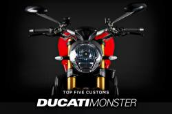 Top 5 Ducati Monster customs