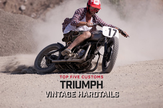 Top 5 Hardtail motorcycles