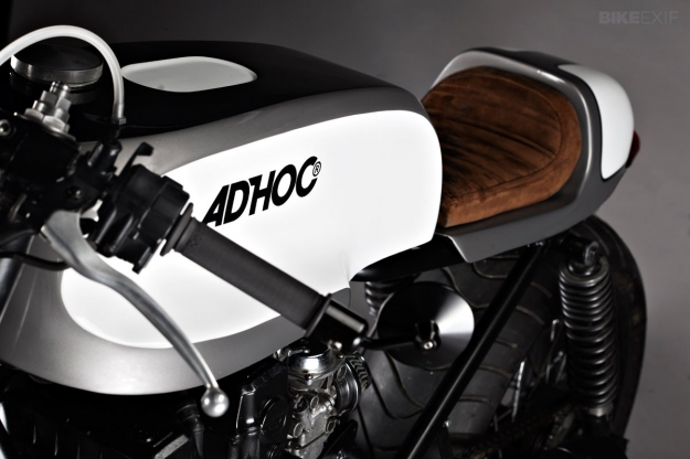 Honda 750 Nighthawk custom motorcycle by Ad Hoc Cafe Racers