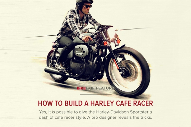 How to build a Harley cafe racer