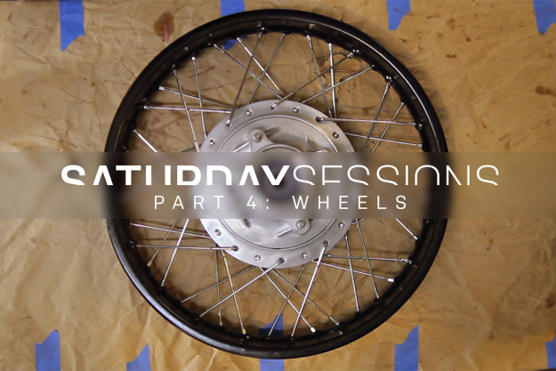 How to restore motorcycle wheels
