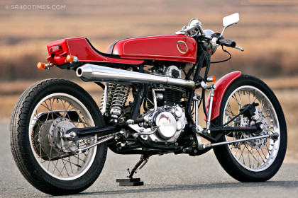 Yamaha SR400 by Skull