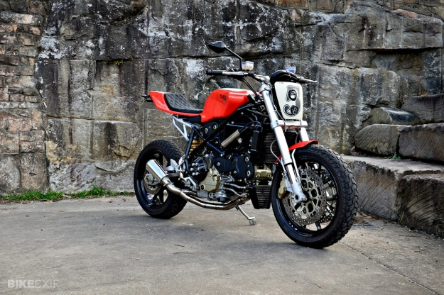 Custom 2003-model Ducati 749 by Shed-X of Australia