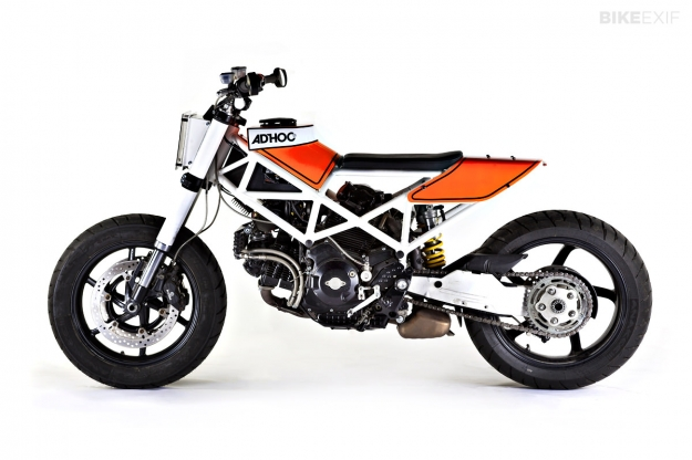 Ducati Multistrada custom by Ad Hoc Cafe Racers