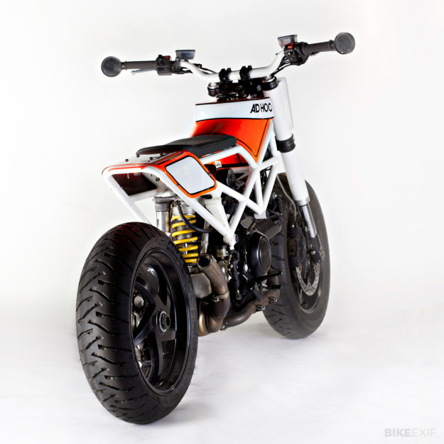 Ducati Multistrada custom by Ad Hoc Cafe Racers