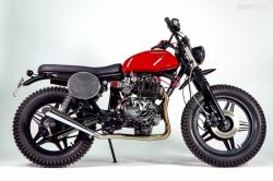 Honda CB400N by Officine Mr. S