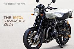 Top 5 Kawasaki Z1 and Z1000 customs