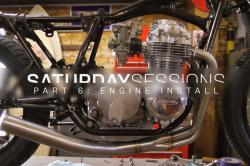 Motorcycle resto: the engine install