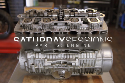 Watch E3 Motorcycles restore a vintage Honda motorcycle engine