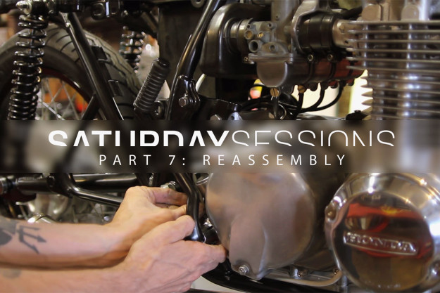How to reassemble a motorcycle during restoration