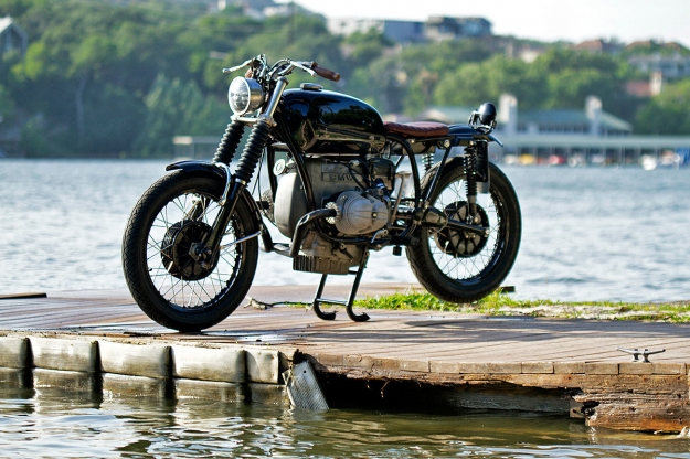 Garage-built 1973 BMW R75/5 by Daniel McNeill.