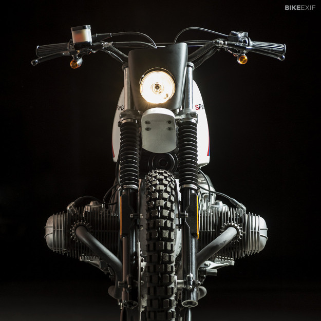 BMW Paris Dakar replica by the custom motorcycle builder Svako.
