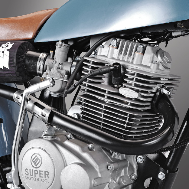Chinese motorcycles: the 'Lucky Punk' by Holland's Super Motor Company