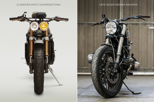 Classified Moto's 'Doomsdaytona' and CRD's BMW '#49'.