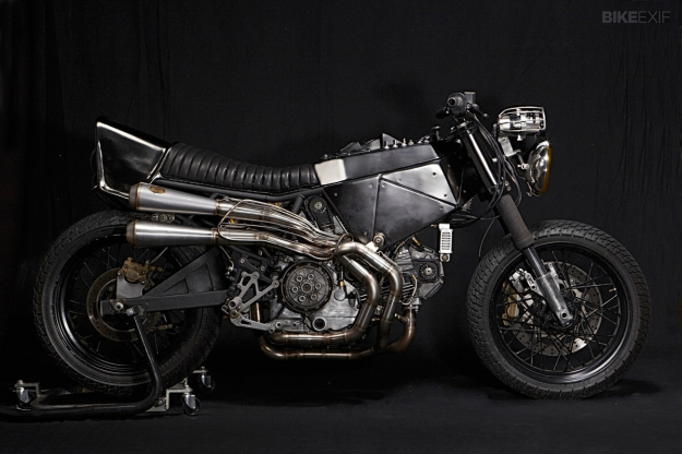 Motorcycle design: Ducati 900ss custom by El Solitario.