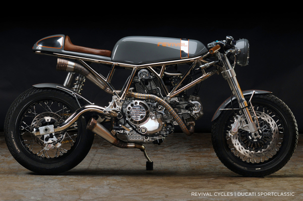 Custom Ducati SportClassic motorcycle by Revival Cycles