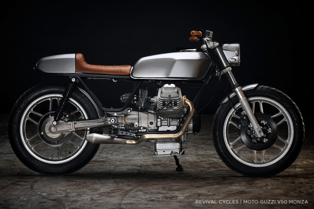 Moto Guzzi V50 custom by Revival Cycles