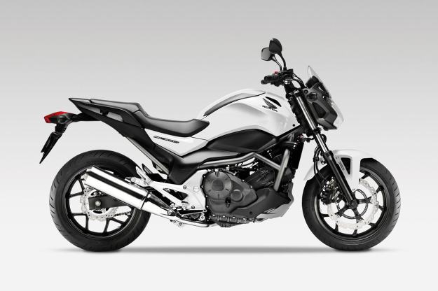 Progress: the 2012 Honda NC700S.