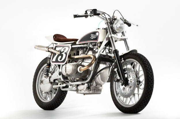 BMW tracker motorcycle by Fuel Motorcycles