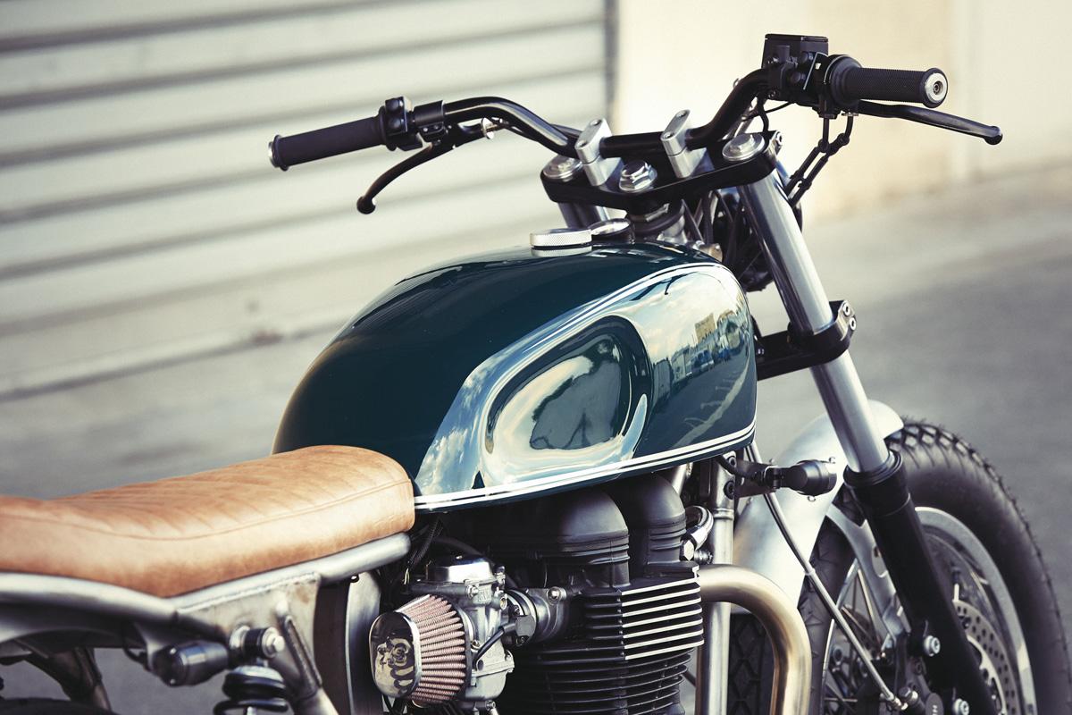 Triumph Bonneville T100 By Clutch Bike Exif