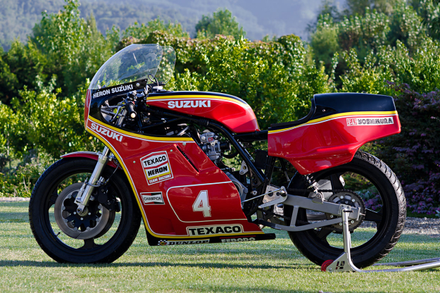 Crosby Suzuki: 1980s racebikes saw the Japanese at their best.