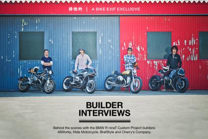 BMW R nineT custom motorcycle builders