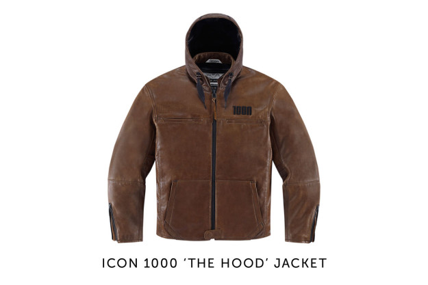 The Hood motorcycle jacket by ICON 1000