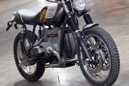 BMW Boxer custom motorcycle by Officine Rossopuro