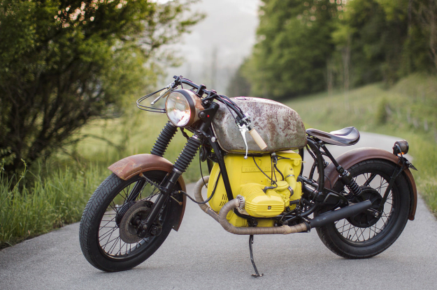 BMW boardtracker by Austrian garage Das Traumwerk