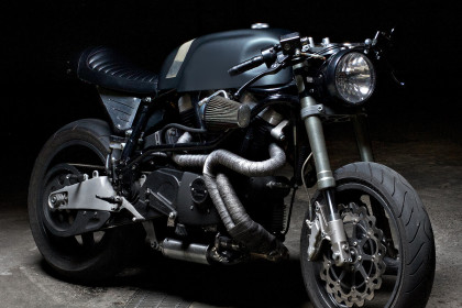 Buell X1 Lightning customized by the Italian workshop Sartorie Meccaniche.