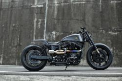 "Rough Crafts' Harley Dyna ""Urban Cavalry"""