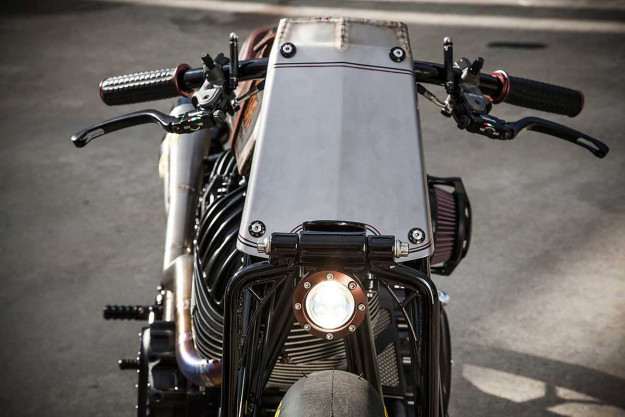 Roland Sands' Indian Chieftain-powered boardtracker motorcycle, called Track Chief.