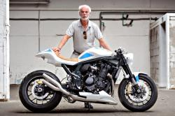 Hans Muth and the Suzuki Bandit FatMile
