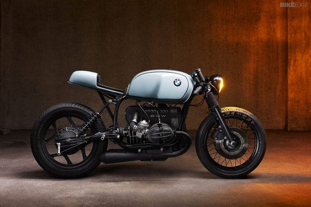 BMW R80 RT built by Tom Konecny of Munich-based Diamond Atelier.