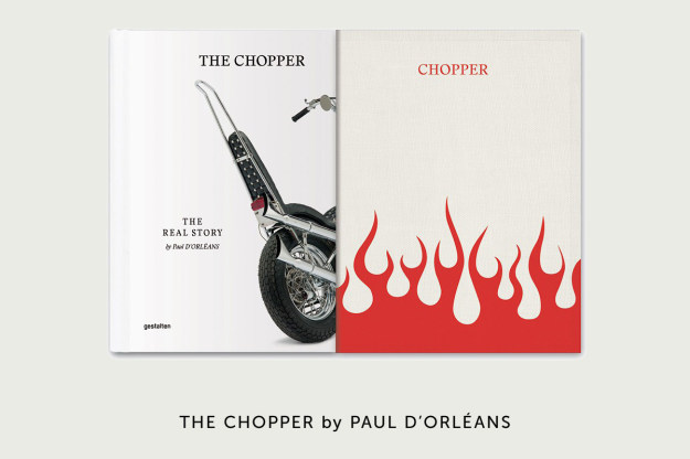 The Chopper motorcycle book by Paul d'Orléans, published by Gestalten.