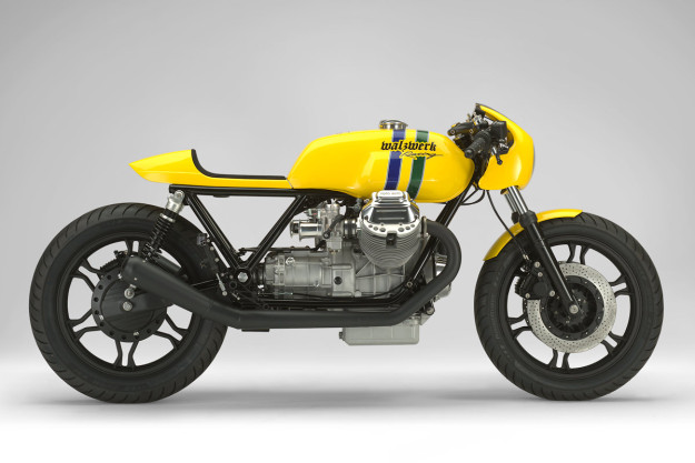 Marcus Walz builds custom motorcycles for Formula One's top drivers. But his latest bike is a throwback—an amazing Ayrton Senna 20th Anniversary tribute.