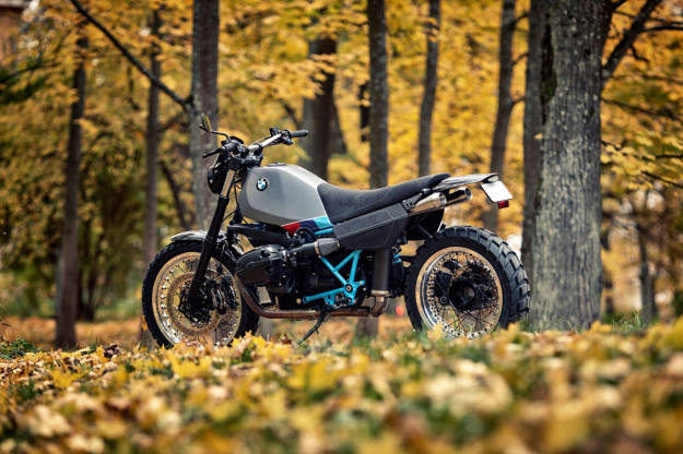 BMW boxer based scrambler built by the Estonian customizer Renard Speed Shop.