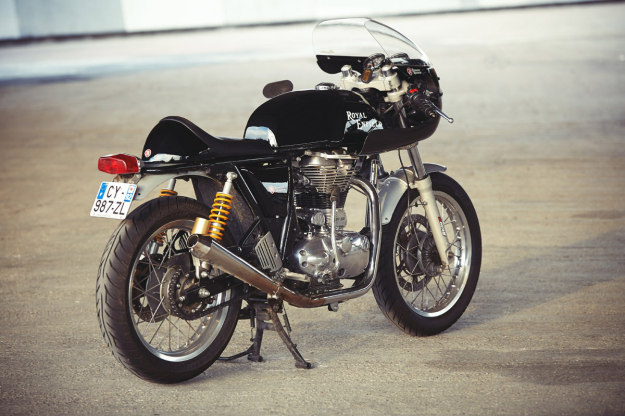 Turn your Royal Enfield Continental GT into a racebike with this new kit from Tendance Roadster.