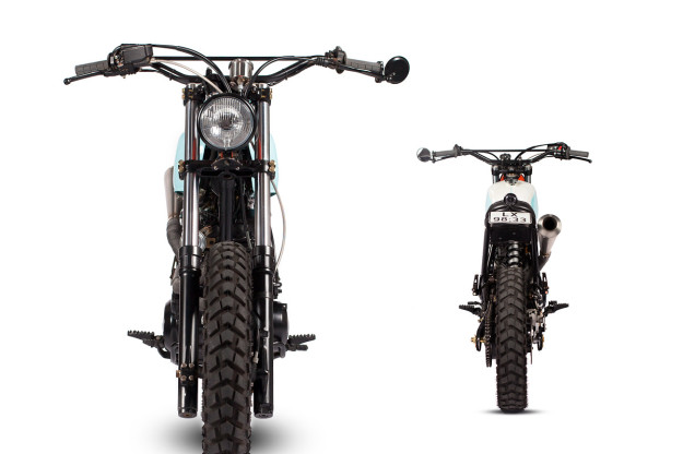 A funky, high-steppin' Yamaha XT600 custom from Portugal's Maria Motorcycles.