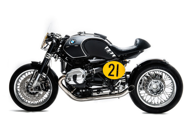 Spirit of Zeller: a BMW R nineT homage by Officine Sbrannetti