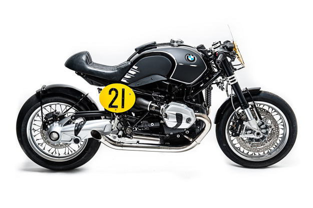 Spirit of Zeller: a BMW R nineT homage by Officine Sbrannetti