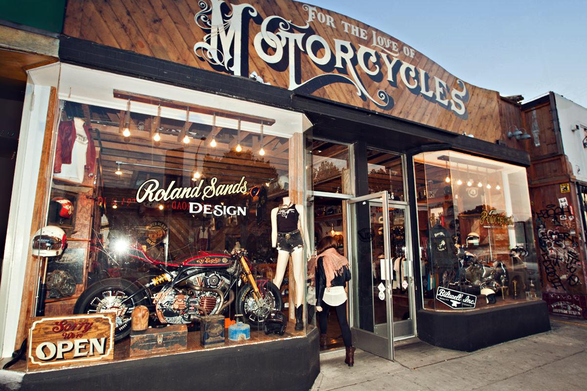 nice motocycle shop #2: Full Size