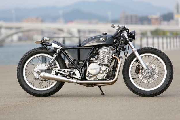 Custom Honda GB400 by Heiwa of Japan.