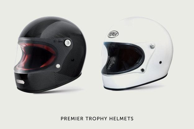Premier Trophy motorcycle helmet