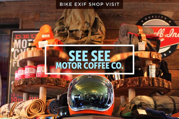 A look behind the scenes at Portland's favorite custom motorcycle shop, See See.